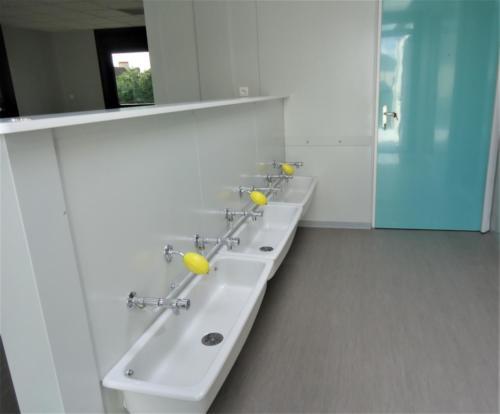 Sanitaire classe modulaire